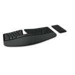 Microsoft Sculpt Ergonomic for Business RF Wireless QWERTZ German Black