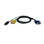 Tripp Lite USB (2-in-1) Cable Kit for NetDirector KVM Switch B020-Series and KVM B022-Series, 1.83 m