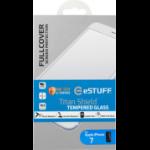 eSTUFF ES10083-FULL-BLACK Clear iPhone 7 2pc(s) screen protector
