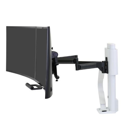 Ergotron TRACE Dual Monitor Mount (white)