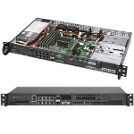 Supermicro SuperServer 5019A-FTN10P Rack (1U) Black