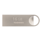 Toshiba TransMemory Mini-Metal 16GB 16GB USB 2.0 USB Type-A connector Silver USB flash drive