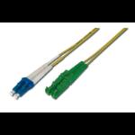 ASSMANN Electronic E2000 / LC 2m 2m E-2000 (APC) LC/PC Geel Glasvezel kabel