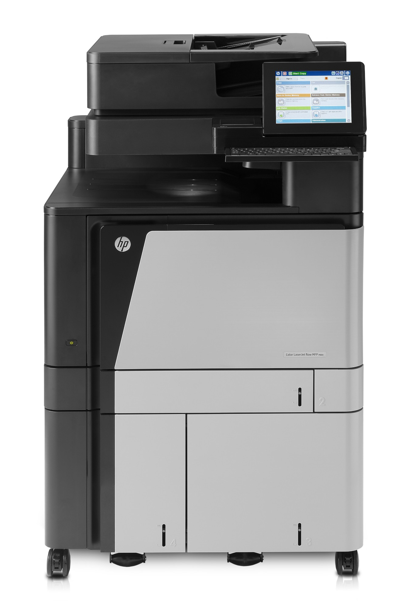 HP LaserJet M880z+ Laser 1200 x 1200 DPI 46 ppm A3