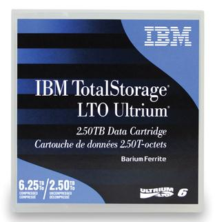 Ultrium 6 2.5 TB Data Cartridge Lto