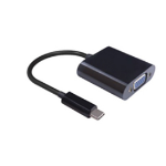 Microconnect 0.2m USB C - D-Sub USB C D-Sub Black cable interface/gender adapter