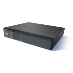 Cisco 867VAE, Refurbished wired router Fast Ethernet Black