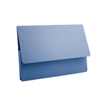 Guildhall L DOCUMENT WALLET A4 BLUE