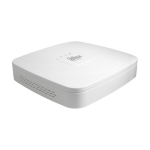 Dahua Europe NVR4104-4KS2 1U White network video recorder
