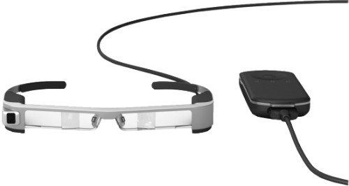 Epson Moverio BT-300 smartglasses 1.44 GHz 16 GB Bluetooth Wi-Fi Built-in camera