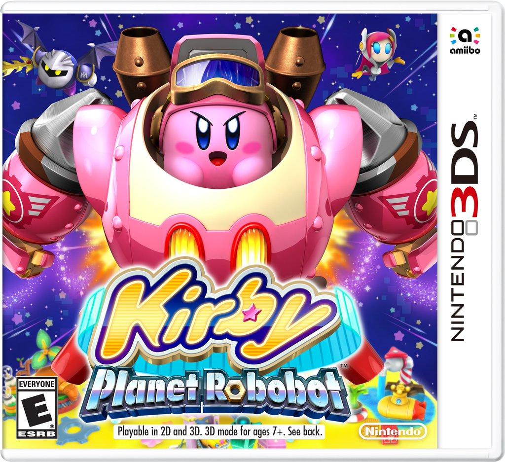 Nintendo 3DS Kirby Planet Robobot