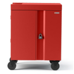 Bretford Cube Cart Portable device management cart Red