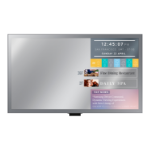 "Samsung ML32E Digital signage flat panel 32"" LED Full HD Wi-Fi Black"