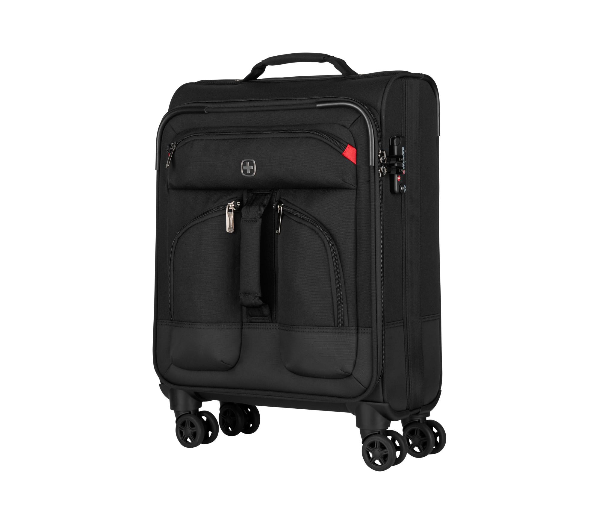Wenger/SwissGear 604369 luggage bag Trolley Black Polyester 34 L