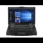 """Panasonic Toughbook 55 HD Notebook Black,Silver 35.6 cm (14"""") 1366 x 768 pixels 8th gen Intel® Core™ i5 8 GB DDR4-SDRAM 256 GB SSD Wi-Fi 5 (802.11ac) Windows 10 Pro"""