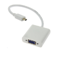 Microconnect HDMIDVGA video cable adapter 0.25 m Micro HDMI VGA White