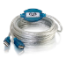 C2G 81665 cable USB 5 m 2.0 USB A Beige