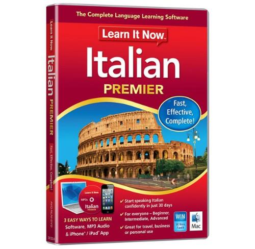 Avanquest Learn It Now Italian Premier