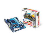 Gigabyte GA-78LMT-USB3 (rev. 4.1) North Bridge: AMD 760G <br /><br>South Bridge: AMD SB710 Socket AM3+ Micro ATX motherboard