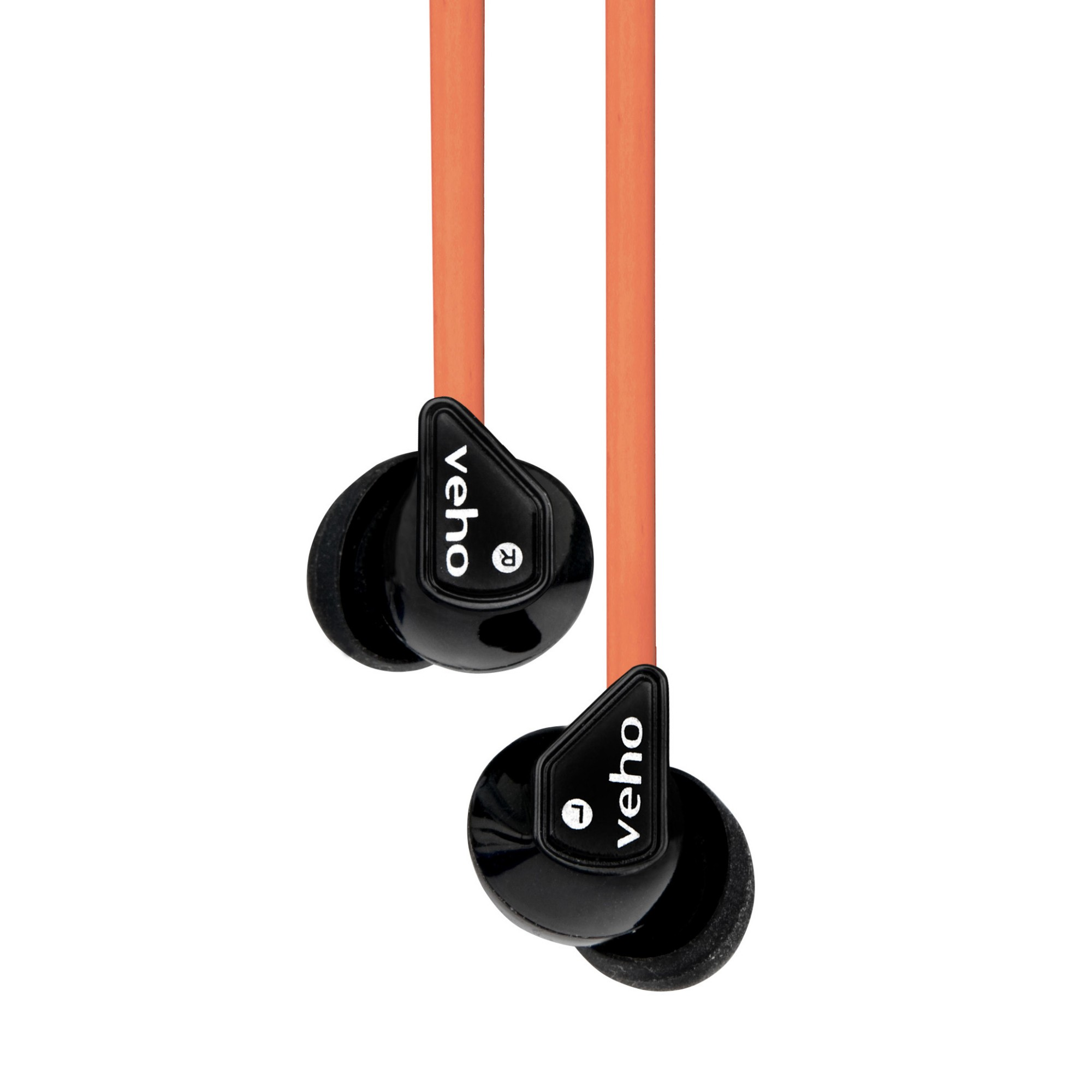 Veho Z-1 Black, Orange Intraaural In-ear headphone