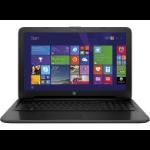 """HP 250 G4 Black 2GHz 15.6"""" 1366 x 768pixels i3-5005U"""