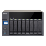 QNAP TS-831X NAS Desktop Ethernet LAN Black