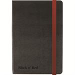 Black n' Red BLK N RED HARD COVER BLACK A6 NOTEBOOK