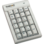 Goldtouch GTC-0033 USB Numeric White keyboard