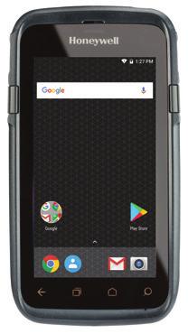 "Honeywell CT60 handheld mobile computer 11.9 cm (4.7"") 1280 x 720 pixels Touchscreen 350 g Black"