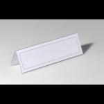 Durable 8052-19 Transparent non-metallic nameplate
