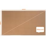 Nobo Impression Pro Widescreen Cork Noticeboard Aluminium Frame 1550x870mm DD