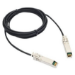 Extreme networks 1m SFP+ cable de fibra optica SFP+ Black,Silver