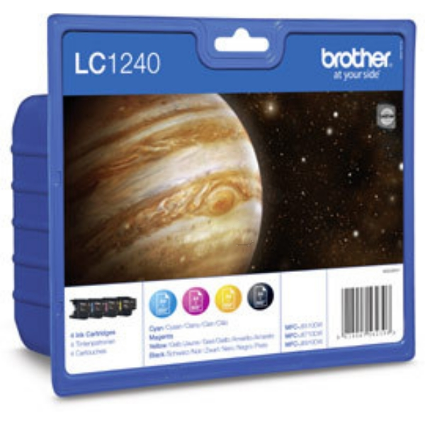 Brother LC-1240VALBP Ink cartridge multi pack, 600 pages, Pack qty 4