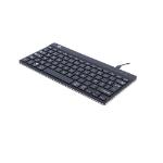 R-Go Tools R-Go Compact Break Keyboard, AZERTY (FR), black, wired