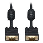 """Tripp Lite P502-050-P VGA cable 600"""" (15.2 m) VGA (D-Sub) Black"""