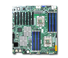 Supermicro MBD-X8DTH-6F-O server/workstation motherboard Extended ATX Intel® 5520