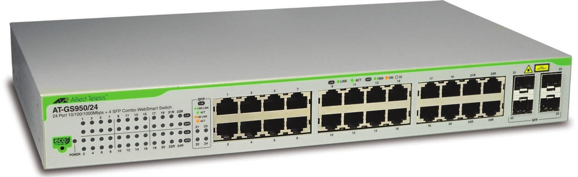 Allied Telesis AT-GS950/24-50 Gestionado