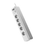 APC PM5-FR surge protector 5 AC outlet(s) 230 V 1.83 m White