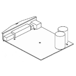 Zebra P1031815-020 printer/scanner spare part PCB unit Label printer