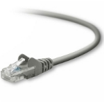 Belkin Cat 5e Snagless UTP Patch Cable 12m Grey networking cable