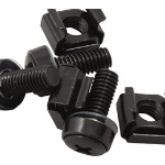 Cabac Hypertec M6 Cage Nut Screws Black Pack 40