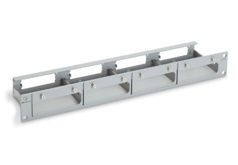 At-tray4 4 Slot Media Converter Rack & Wall-mounting Brackets