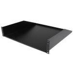 StarTech.com ‌2U Rack Mount Cantilever Shelf - 125lbs / 56kg - 18 in. Deep