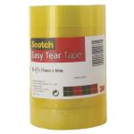 Scotch EASY TEAR CLR TAPE 25MMX66M