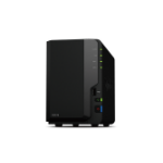 Synology DiskStation DS218 storage server Ethernet LAN Desktop Black NAS
