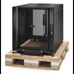 APC NetShelter SX 12U Freestanding rack Black