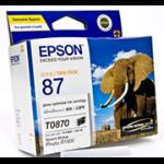 Epson UltraChrome Hi-Gloss2 Gloss Optimiser Cartridge black,Pigment black ink cartridge