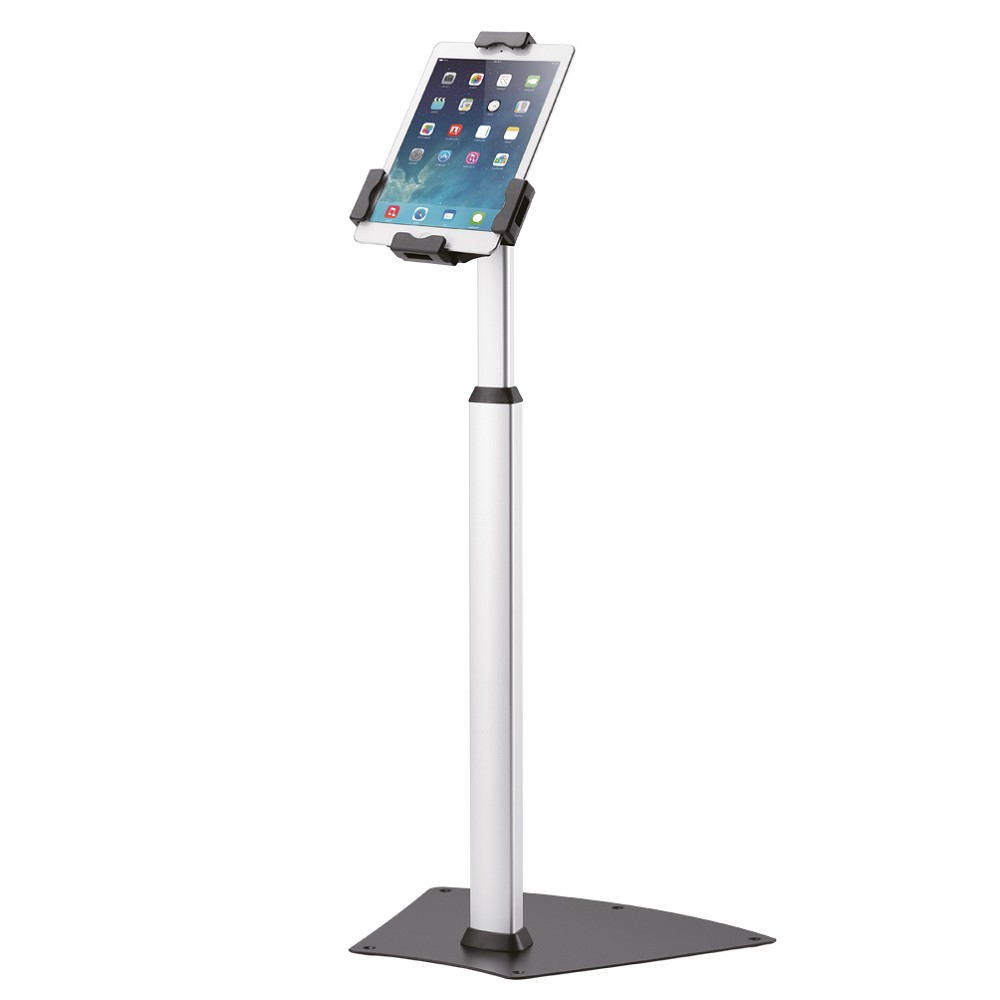 "Newstar TABLET-S200SILVER iPad floor stand for 7.9""-10.5"" iPad tablets"