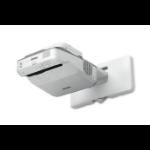 Epson PowerLite 680 data projector 3500 ANSI lumens 3LCD XGA (1024x768) Wall-mounted projector Gray, White