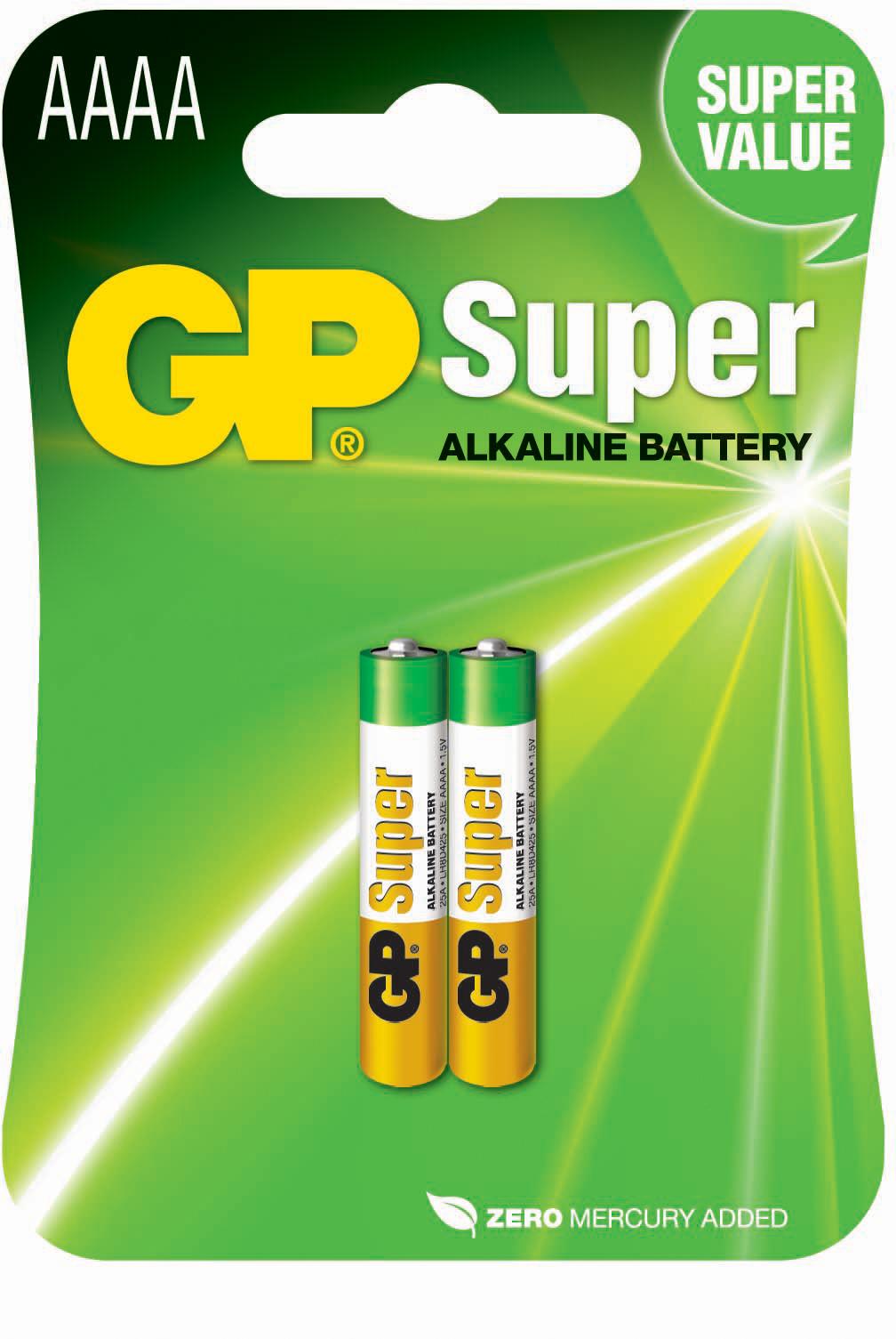 GP Batteries SUPER ALKALINE AAAA / LR61